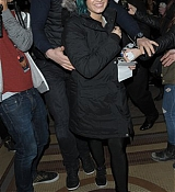Demi Lovato Arrives Back To Hotel - November 21