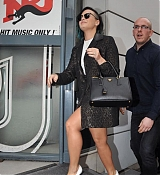 Demi Lovato Arrives at NRJ Radio Station in Paris - November 21