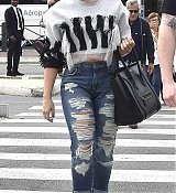Demi Lovato Arrives in Paris - September 4