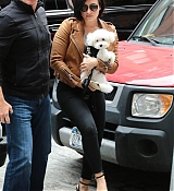 Demi Lovato With Her Pooch Out in NYC - June 4