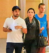 Demi Lovato Out in Sherman Oaks with Wilmer - July 24