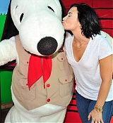 Demi Lovato Celebrates at Knott's Berry Farm in Buena Park - August 22