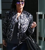 Demi Lovato Leaving Her Hotel in London - September 10