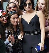 Demi Lovato Leaving Her Hotel in NYC - June 5