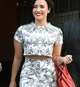 Demi Lovato Leaving Her Hotel in NYC - June 6