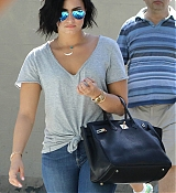 Demi Lovato Out in Vancouver - July 19
