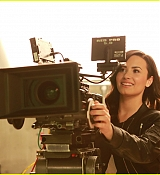 Demi Lovato New Twister Behind The Scenes Photos