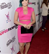 Demi Lovato Arrives Vevo CERTIFIED SuperFanFest Presented By Honda Stage