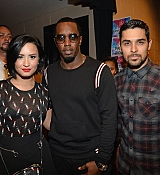 Demi Lovato at 2015 iHeartRadio Music Festival - Night 2 [Backstage] - September 19