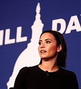 Demi Lovato at Be Vocal Speak Up for Mental Health Day 1 - October 5