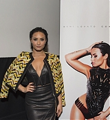 Demi Lovato at Confident Listening Party in London