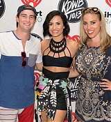 Demi Lovato at KDWB Demi Day Meet and Greet - July 3