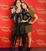 Demi Lovato at Madame Tussand Wax Unveiled in hollywood - August 17