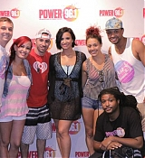 Demi Lovato at Power 96.1 Pool Party in Atlanta [Meet and Greet] - July 2