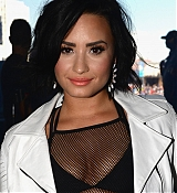 Demi Lovato at The Daytime Village At The 2015 iHeartRadio Music Festival [Backstage] - September 19