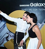 Demi Lvoato Visits Vietnam Samsung Store - May 8