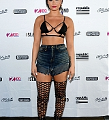 Demi Lovato at Z100 Music Station Celebration - July 2