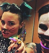 Demi Lovato Halloween Make Up