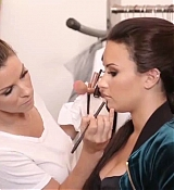Demi Lovato Behind The Scenes of  N.Y.C New York Colors Pictures