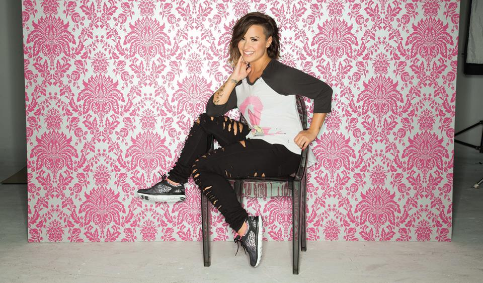 Demi Lovato for Skechers Women Footwear Photoshoots