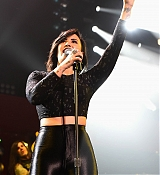 Demi Lovato Performs at HOT 99.5''s Jingle Ball 2014 - December 15