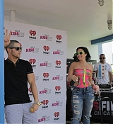 Demi Lovato at 1035 KISS FM Pool Party - July 3