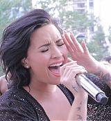 Demi Lovato at Power 96.1 Pool Party in Atlanta - July 2