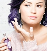 Demi Lovato Poses for Devonne Skin Care