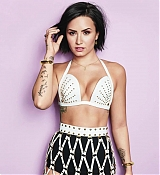 Demi Lovato for Cosmopolitan Photoshoots