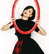 Demi Lovato for Jingle Ball Photoshoots