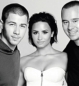 Demi Lovato & Nick Jonas For Billboard Shoot