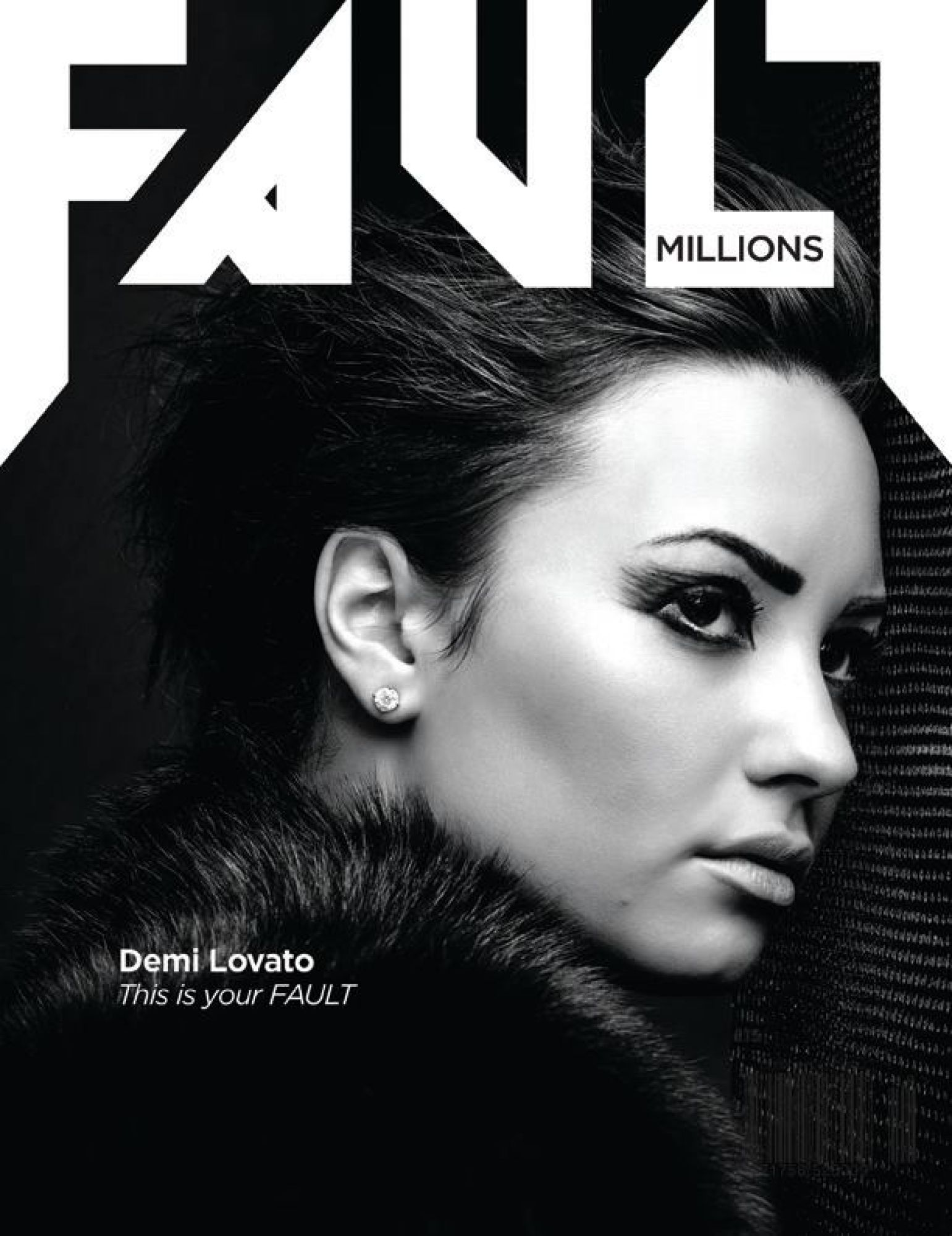 Demi Lovato Covers for Fault Magazine