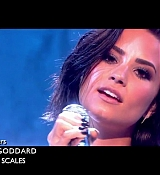 Demi Lovato Performs at Alan Carr: Chatty Man Screen Captures