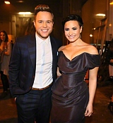 Demi Lovato and Olly Murs Perform at X Factor UK - December 14