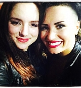 Demi Lovato World Tour Backstage at Staples Center, Los Angeles CA - September 27, 2014