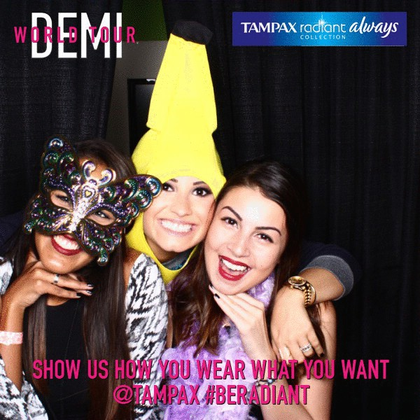 Demi Lovato Tour Backstage Fan Photos in Orlando - September 15