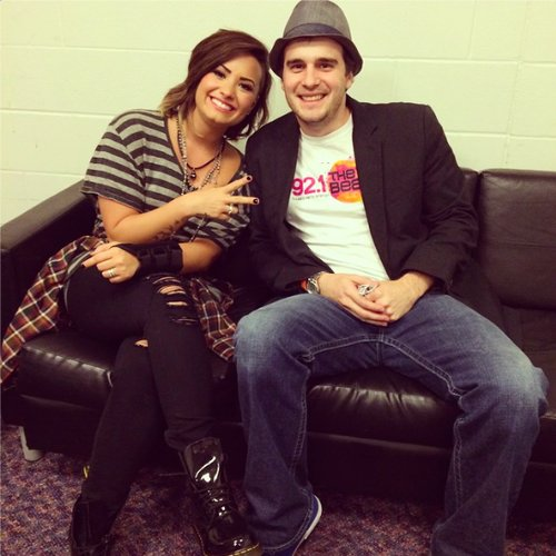Demi Lovato World Tour Backstage in Tulsa, OK - September 21st