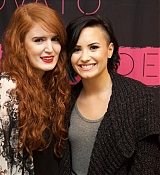 Demi Lovato World Tour Meet and Greet Photos in Amsterdam - November 18, 2014