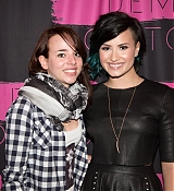 Demi Lovato Poses with Fans during Meet and Greet During Demi Lovato World Tour - November 21