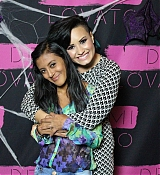 Demi Lovato Meet and Greet at World Tour in NY