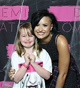 Demi Lovato World Tour Meet and Greet in Edmonton, AB - October 4th
