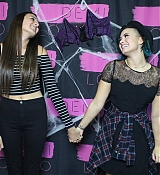 Demi Lovato World Tour Meet and Greet at Hershey, PA - October 24, 2014