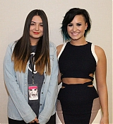 Demi Lovato Meet and Greet at Istanbul Turkey for World Tour - November 15