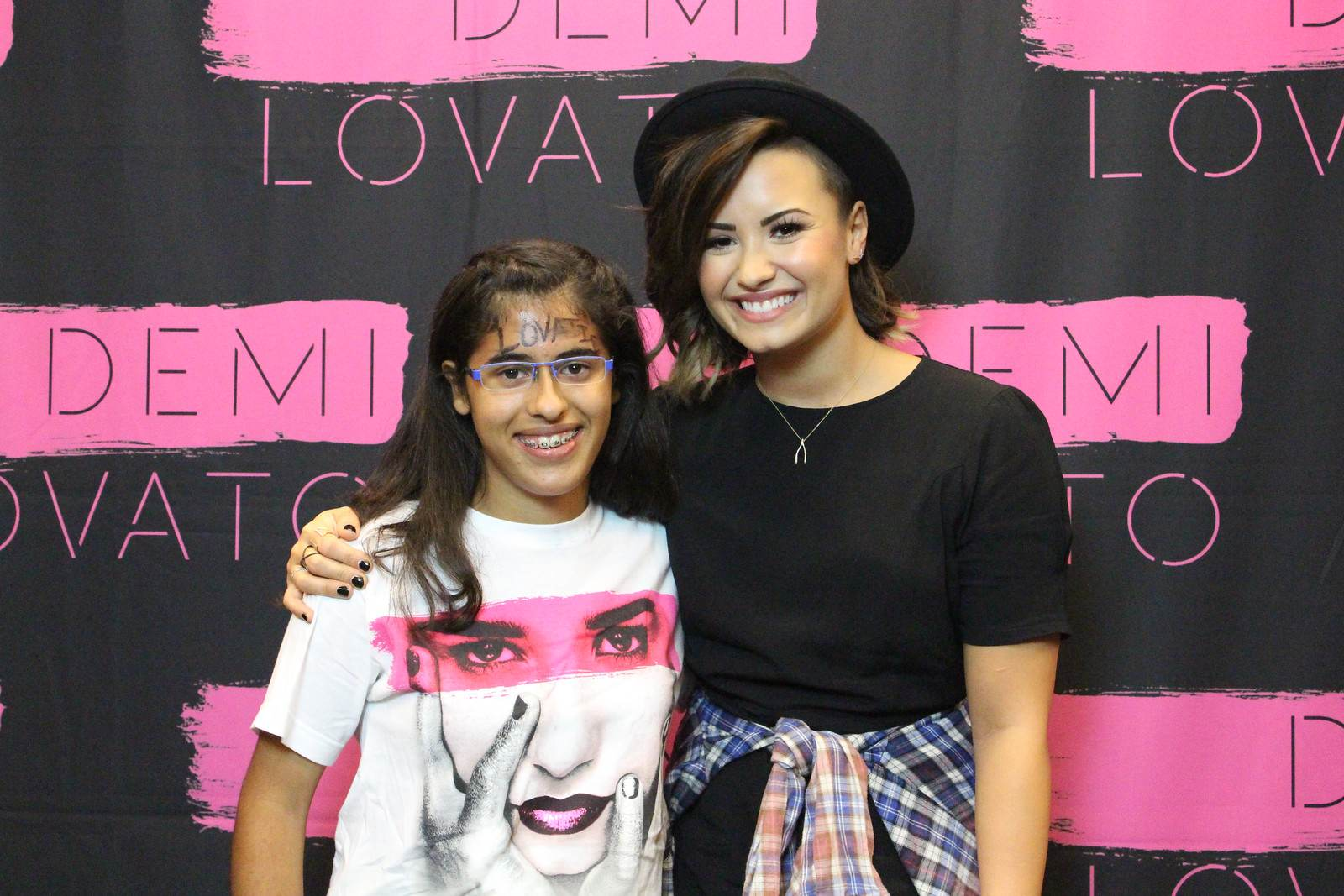 Demi Lovato Meet And Greet at Demi Lovato World Tour in Kansas City