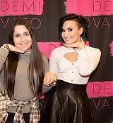 Demi Lovato World Tour Meet and Greet in Manchester, UK - November 29, 2014
