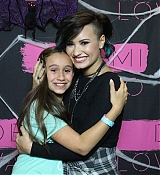 Demi Lovato World  Tour Meet and Greet at Newark NJ - October 25