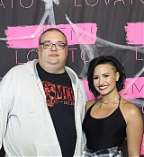 Demi Lovato Tour Meet and Greet at Saskatoon, SK - October 7, 2014