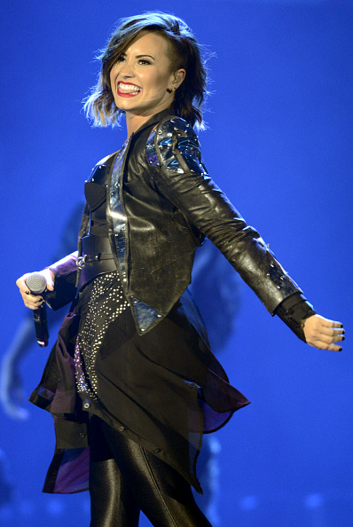 Demi Lovato Performs at Denver, CO for Demi Lovato World  Tour - September 25