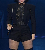 Demi Lovato Performs during Demi Lovato World Tour at Perth, Australia - April 21, 2015