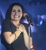 Demi Lovato at YAN Beatfest - May 8